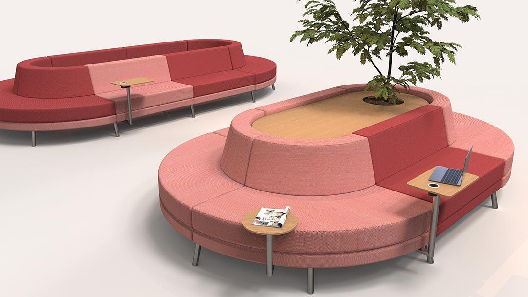 Modular Sofa Perfect For Public Es Addon Furniture