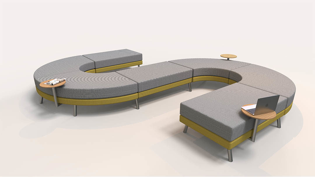 Modular Sofa Perfect For Public Es