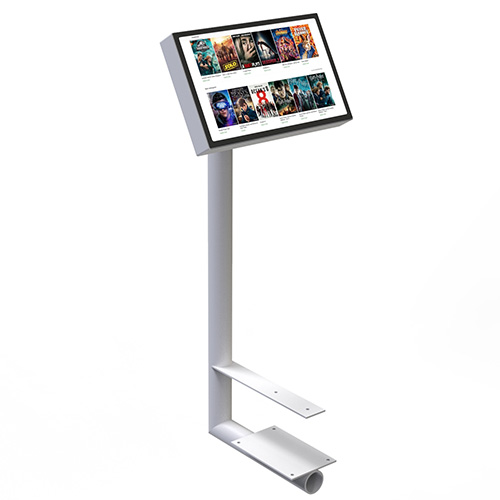 touch screen floor stand holder