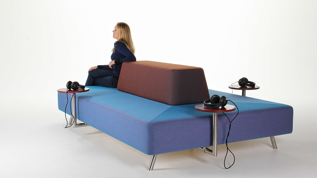 Commercial Plain Sofa Designed For Public Spaces Addon