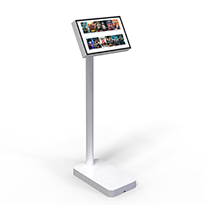 Tablet holder for public spaces