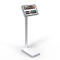 Tablet holder for public spaces