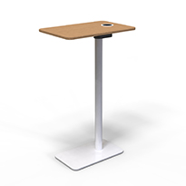 Touchscreen holder add-on furniture interactive
