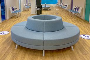 Ooz Rotterdam Round Sofa